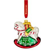 Waterford - Baby's First Christmas Rocking Horse Ornament