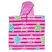Wonga Road - Stars & Stripes Kids Beach Poncho 60x120cm