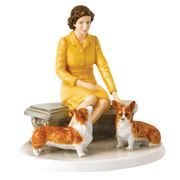 Royal Doulton - Celebrating Queen Elizabeth II At Home