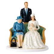 Royal Doulton - Queen Elizabeth II A Royal Christening