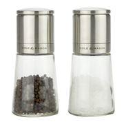 Cole & Mason - Clifton Glass Salt & Pepper Mill Set