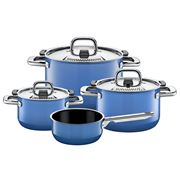 Silit - Nature Colours Blue Cookware Set 4pce