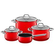 Silit - Passion Red Cookware Set D 4pce
