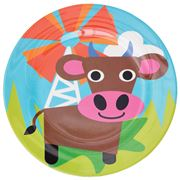 French Bull - Farm Series Plate Cow