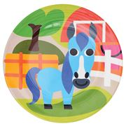 French Bull - Farm Series Plate Horse