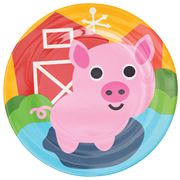 French Bull - Farm Series Plate Pig