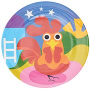 French Bull - Farm Series Plate Rooster