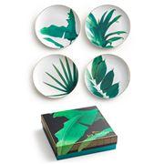 Rosanna - Jet Setter Botanical Plate Set 4pce