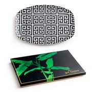 Rosanna - Jet Setter Greek Key Serving Tray