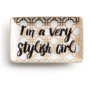 Rosanna - Jet Setter I'm A Very Stylish Girl Tray