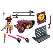 Playmobil - Interactive Red Cannon with Buccaneer