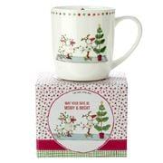 Ashdene - Twigseeds Christmas Merry & Bright Mug