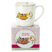Ashdene - Twigseeds Christmas Deck the Halls Mug