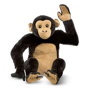 Melissa & Doug - Large Plush Chimpanzee