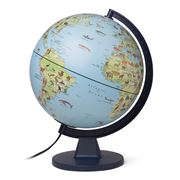 Edu-Toys - Kids' Illustrated Globe With Animals