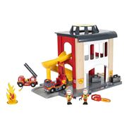 Brio - Rescue Fire Station Playset 12pce