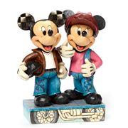 Disney - Biking Sweethearts Mickey & Minnie