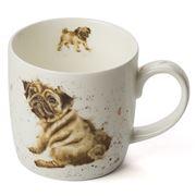Royal Worcester - Wrendale Designs Pug Love Mug