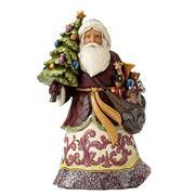 Jim Shore -  Victorian Santa with Tree