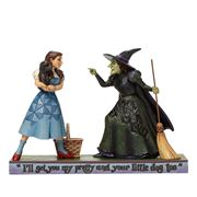 Jim Shore - Dorothy and Wicked Witch I'll Get You My Pretty
