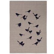 ART - French Wrens Tea Towel