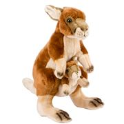 National Geographic - Kangaroo and Joey 44cm