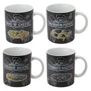 Konitz - Cuisine Mug Set 4pce