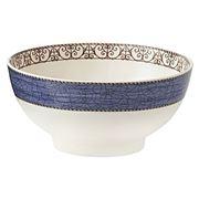 Wedgwood - Sarah's Garden Salad Bowl Blue