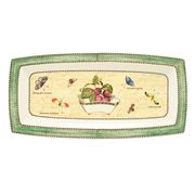 Wedgwood - Sarah's Garden Rectangular Tray Green