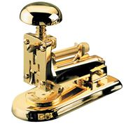 El Casco - Small Stapler All Gold