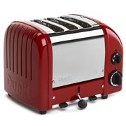 Dualit - Three Slice Toaster DU03 Red