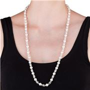 Oliver Weber - White Pearl Long Necklace