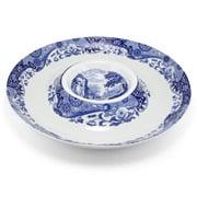 Spode - Blue Italian Chip 'n' Dip Platter