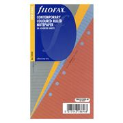 Filofax - Personal Contemporary Coloured Ruled Note Paper