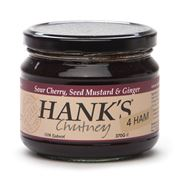 Hank's - Cherry Seeded Mustard & Ginger Jam for Ham 370g