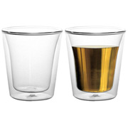 Bodum - Canteen Medium 200ml Thermo Glass Set 2pce