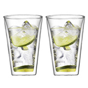 Bodum - Canteen Large 400ml Thermo Glass Set 2pce