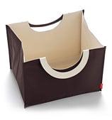 SkipHop - Bin-Go Storage Bin Chocolate
