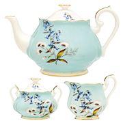 Royal Albert - 100 Years 1950s Festival Teapot Set 3pce
