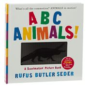 Book - ABC Animals! A Scanimation Picture Book