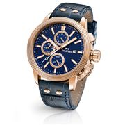 TW Steel - CEO Adesso CE7016 Rose Gold 48mm Blue Chronograph