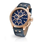 TW Steel - CEO Adesso CE7015 Rose Gold Blue Chronograph