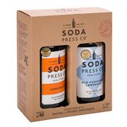 Soda Press Co - Ginger Ale & Old Fashioned Lemonade Set 2pce