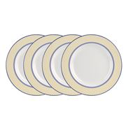 Spode - Giallo Dinner Plate Set 4pce