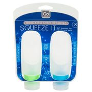 Go Travel - Squeezy Bottle Set 2pce