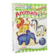 Master Kidz - Wooden Mini Puzzles Animals