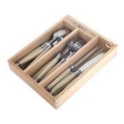 Laguiole - Debutante Ivory Cutlery Set 18pce