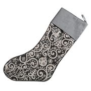 Swish Collection - Silver Christmas Stocking