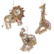Katherine's Collection - Jeweled Circus Animals Ornament