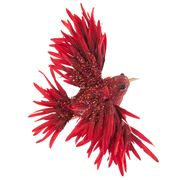 Katherine's Collection - Fire Bird Red Ornament